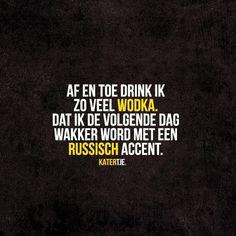 Af en toe drink ik zoveel vodka, dat ik de volgende dag wakker word met een Russisch accent Rebel, Movie Posters, Movies, Vodka, Films, Film Poster, Cinema, Movie, Film