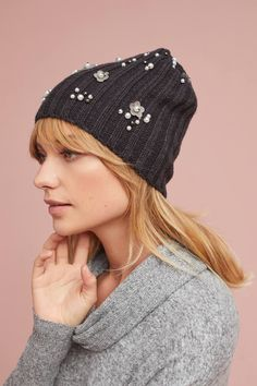 Shop the Pearled Bloom Beanie and more Anthropologie at Anthropologie  today. Read customer reviews 78002cf95481