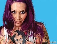 "Check out new work on my @Behance portfolio: ""ERIKA - Adobe Illustrator Portrait"" http://be.net/gallery/37046917/ERIKA-Adobe-Illustrator-Portrait"