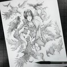 Artist: Itsbirdy | Naruto | Itachi