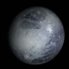 Pluto, at 3.6 billion miles from the sun