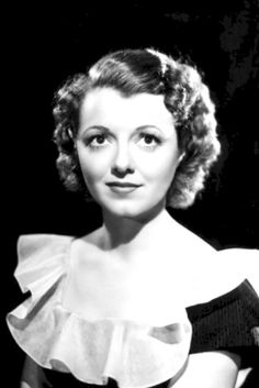 Janet Gaynor (Oct. 6, 1906 - Sept. 14, 1984) She was so sweet Constance inspo