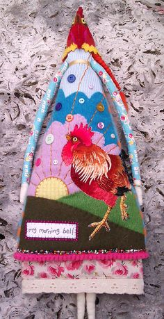 My Morning Bell Doll (with mask on) by Annie Montgomerie, via Flickr