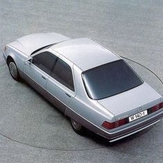 Alternative proposal for the 1991 Mercedes-Benz S-Class (W140)