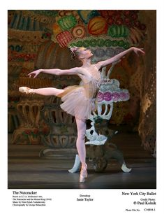 Janie Taylor in The Nutcracker.  Photo (c) Paul Kolnik.