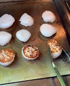 Grilling scallops is easier than you think. I offer you the single best tip for cooking sea scallops with capers and brown butter. Healthy Grilling, Grilling Recipes, Fish Recipes, Seafood Recipes, Dinner Recipes, Grilled Scallops, Sea Scallops, Grilled Seafood, Grilled Fish