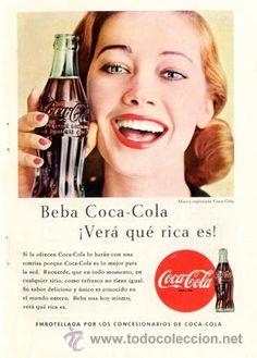 Página Publicidad Original *COCA-COLA*  · Vintage - Año 1957