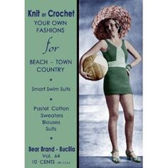 crochet summerwear vintage - #vintage #crochet from the 1930's - #craft #history