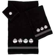 Jack Skellington Towel Set -- 3-Pc.