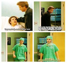 That one time Cory thought he would die from getting his tonsils removed and Shawn thought Cory would vanish mysteriously from the hospital...