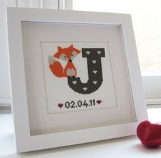 Super Baby Shower Signs For Girls Phone Cases Ideas – Phone case for girls Cross Stitch Baby, Cross Stitch Animals, Cross Stitch Charts, Baby Cross Stitch Patterns, Fox Crafts, Baby Crafts, Cross Stitching, Cross Stitch Embroidery, Baby Shower Signs