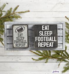 #GordmansHolidayCountdown I would love to get this for my son who really does Eat, Sleep, Football, Repeat.  His room is done in Chicago Bears, complete with a custom wall mural of their logo
