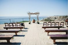 San Clemente State Beach Campsite Ceremony