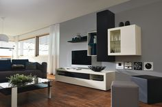 Now by Hülstra Home Office, Accent Colors, High Gloss, Interior Decorating, New Homes, Architecture, Simple, Wood, Design