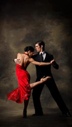 Photographer Unknown - Fashion Photography - Dance - Flowing - Movement - Dress - Latin Dance