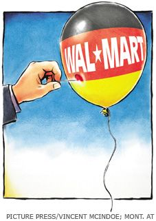 U.S. retail giant Wal-Mart failed to get a foothold on the German market - first and foremost because management didn't take into account German consumer habits.