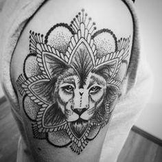 lion mandala - Google Search