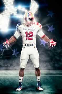 Under Armour Wounded Warriors Boston College Football Jerseys Revealed