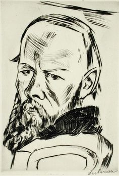 Max Beckmann, drypoint