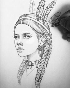 + 100 Best Easy Pencil Drawings Images : - Art & Drawing Community : Explore & Discover the best and the most inspiring Art & Drawings ideas & trends from all around the world Sketch Tattoo Design, Tattoo Sketches, Tattoo Drawings, Art Tattoos, Tattoo Designs, Girl Drawing Sketches, Cool Art Drawings, Drawing Ideas, Pencil Drawing Images