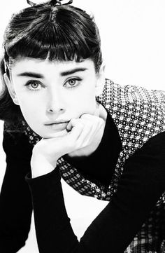 Audrey Hepburn for the still wonderful movie, Sabrina ~ 1954.
