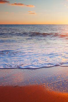 Golden Beach  #iPhone #4s #Wallpaper