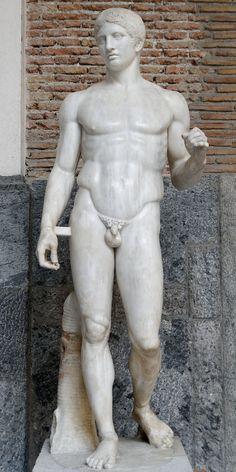 Doryphoros MAN Napoli Inv6011 - Doryphore (Polyclète) — Wikipédia