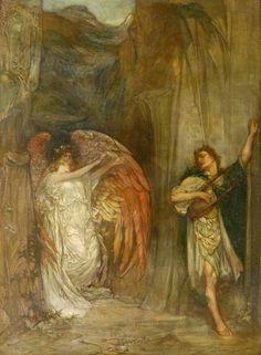 Orpheus Leaving Eurydice - Douglas Strachan 1909