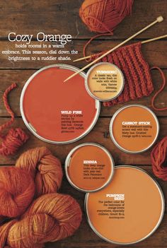 Color Personality: Cozy Orange