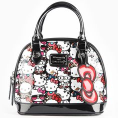 2ff54e0259b6 Loungefly Hello Kitty All Stars Embossed Mini Bag