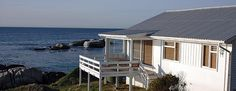 South Winds Oceanfront Bungalow, Simon's Town, Cape Peninsula & Surrounds, Western Cape on Budget-Getaways Marine Reserves, Castle Rock, Running Away, Bungalow, South Africa, Cottage, Architecture, Outdoor Decor, House