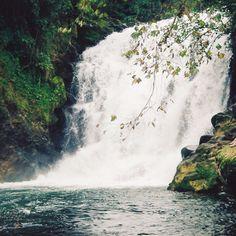 """Desciende sobre una pared natural de más de 80 mts y disfruta de la maravillosa vista de la cascada de Texolo desde una perspectiva que sólo el rappel te puede dar. Cascada """"Velo de Novia"""" en Xico, #Veracruz #OjalaEstuvierasAqui #BestDay"""