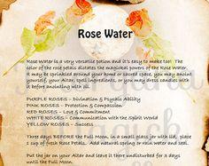 RAIN WATER MAGICK Digital Download Book of by MorganaMagickSpell
