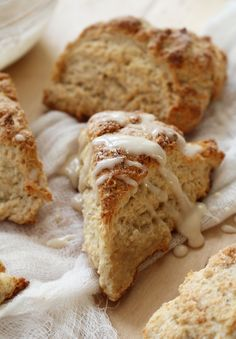 Leftover Chai Latte Scones - dinner with Julie