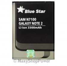 BATTERIA ORIGINALE BLUE STAR 3,8V 3300mAh LITIO PER SAMSUNG GALAXY NOTE 2 N7100 NUOVA NEW REPLACEMENT PILA - SU WWW.MAXYSHOPPOWER.COM