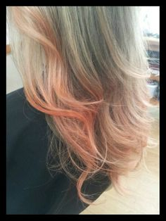 A subtle hint of apricot via balayage technique using Matrix colour lacquers by Kylie King Balayage Technique, Matrix Color, Fall Hair Colors, Hair Highlights, Trendy Hairstyles, Colour, Long Hair Styles, Kylie King, Beauty