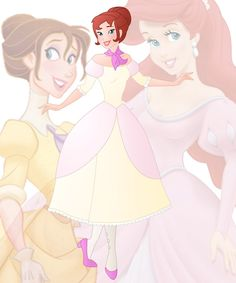 A new series in which I mix 2 disney princesses into 1 This is a mix of Ariel and Jane, her name is Jenna Hope you like her Other combinations: disney fusion Anna and Ariel d...