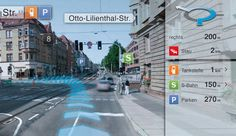 ercedes-Benz & AR: An experimental platform demonstrates the future of automotive navigation. Innovation, Car Ui, S Bahn, Ares, Love Culture, Augmented Reality, Cartography, Tour Guide, Ui Design
