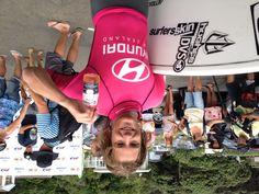 Billy Stairmand - 2013 New Zealand National Champion. Piha Beach