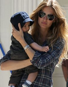 Gisele and her son Benjamin @DunstanBabyL #Baby Learn more about all things babies http://www.dunstanbaby.com/