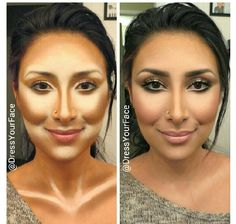 Contouring to the Max. Know how.. #countouring #makeup
