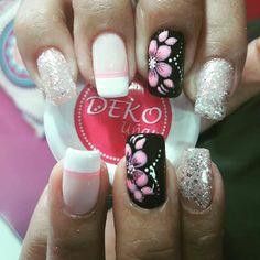 Flower Nails, Toe Nails, Beauty Secrets, Opi, Pretty Nails, Nail Colors, Nail Designs, Valentines, Nail Art