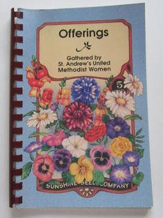 St. Andrews United Methodist Church Cookbook Offerings Charlotte NC $7.99 Free Shipping