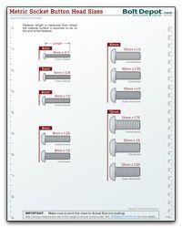 Metric Socket Button Head Screw Size Chart Metal Bending Tools, Metal Working Tools, Best Woodworking Tools, Woodworking Projects Diy, Metric Bolt Sizes, Chart Tool, Screws And Bolts, Garage Tools, Shop Organization
