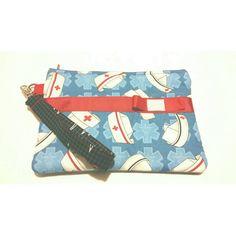 Check out this item in my Etsy shop https://www.etsy.com/listing/259138021/nurses-wristlet