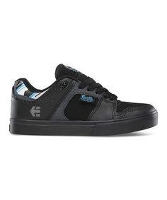 Look at this #zulilyfind! etnies Black Suede FSAS X Twitch Rockfield Sneaker by etnies #zulilyfinds