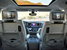 Once you've driven and lived with the all-new 2017 Pacifica, you'll understand why Chrysler needed to jettison the Town & Country nameplate. Entertainment System, Monospace, Chrysler Pacifica, Town And Country, Back Seat, Future Car, Cars And Motorcycles, Cool Cars, Dodge