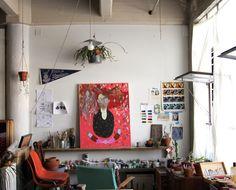 What an art studio!