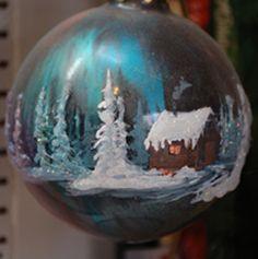 Snow Globes, Christmas Bulbs, My Arts, Holiday Decor, Home Decor, Christmas Light Bulbs, Homemade Home Decor, Decoration Home, Home Decoration