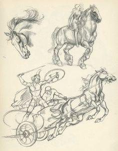 Human Figure Sketches, Figure Sketching, Figure Drawing, Cartoon Sketches, Animal Sketches, Drawing Sketches, Horse Drawings, Animal Drawings, Art Drawings